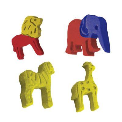 Набор для лепки Эластик «Зоопарк»