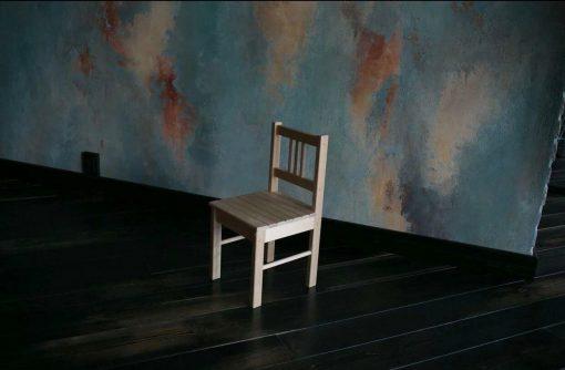 Детский деревянный стульчик Колибри