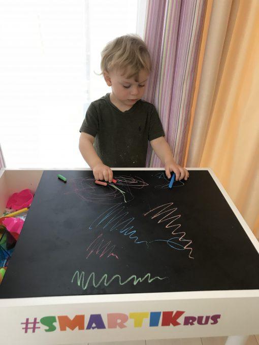 Грифельная крышка для рисования и игр