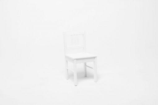 Детский деревянный стульчик Колибри, белый