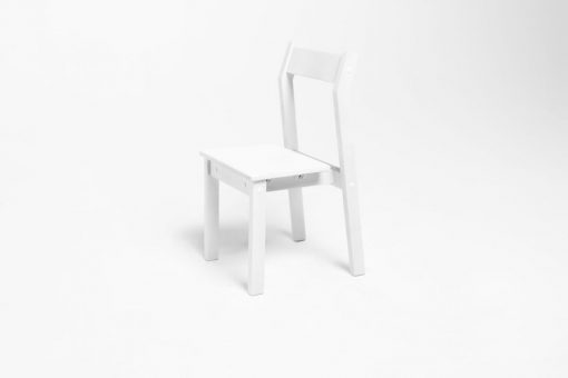 Детский деревянный стульчик SMARTIK, белый