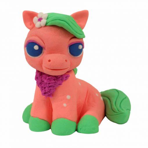 Игровой набор Plush (розовый + зеленый)